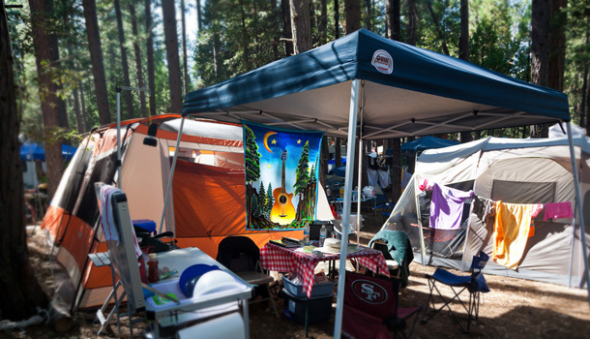 Checklist for Camping at a Music Festival
